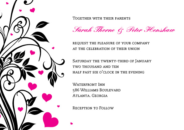 Wedding Invitation Genus Design Blog