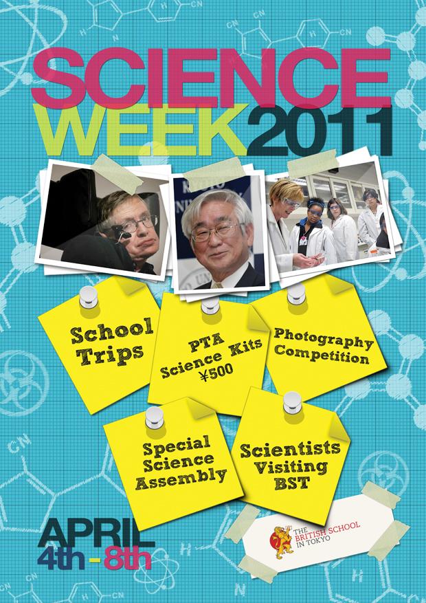 Science Week Poster April 2011