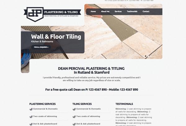 Dean Percival Plastering & Tiling