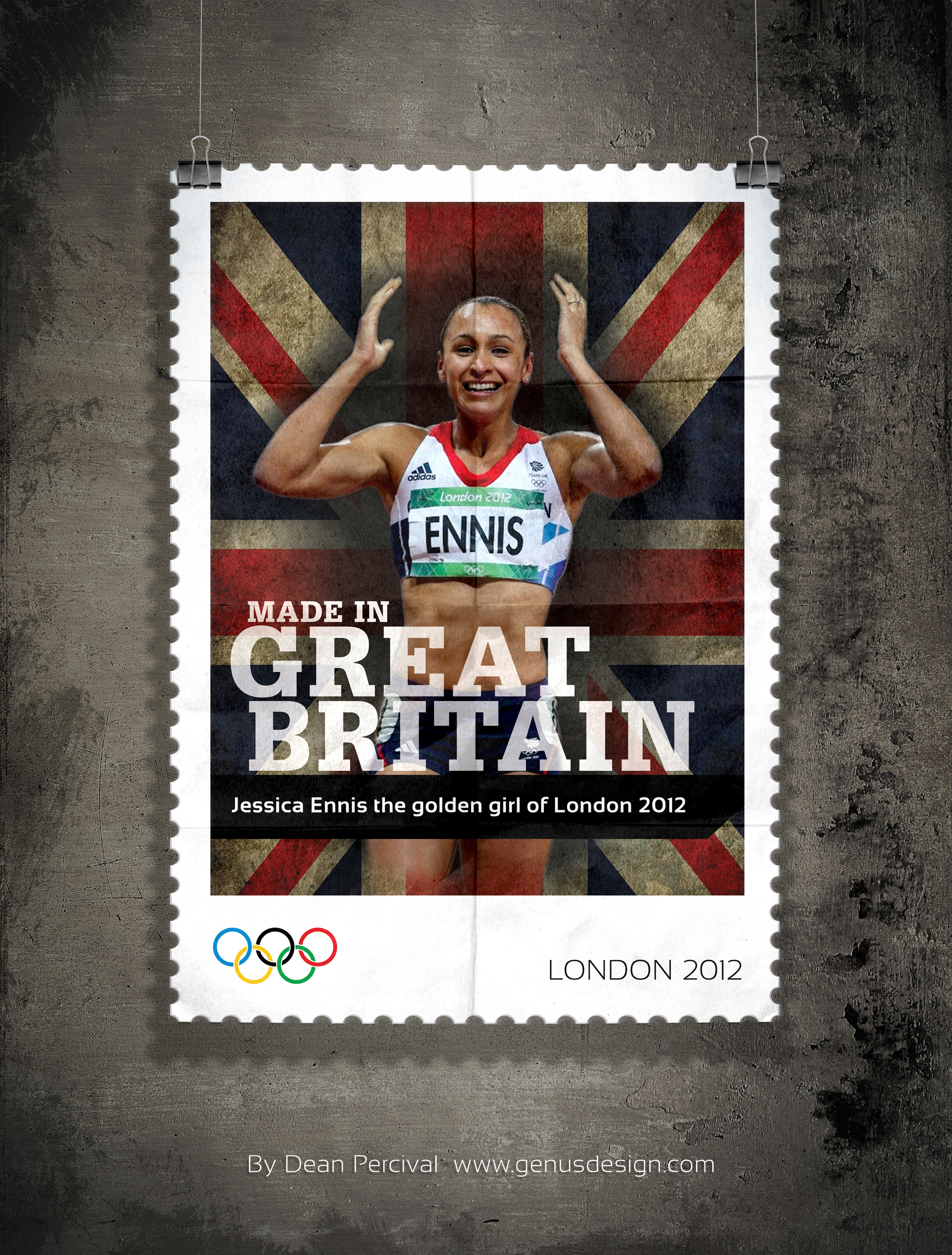 Jessica Ennis Golden Girl of London 2012
