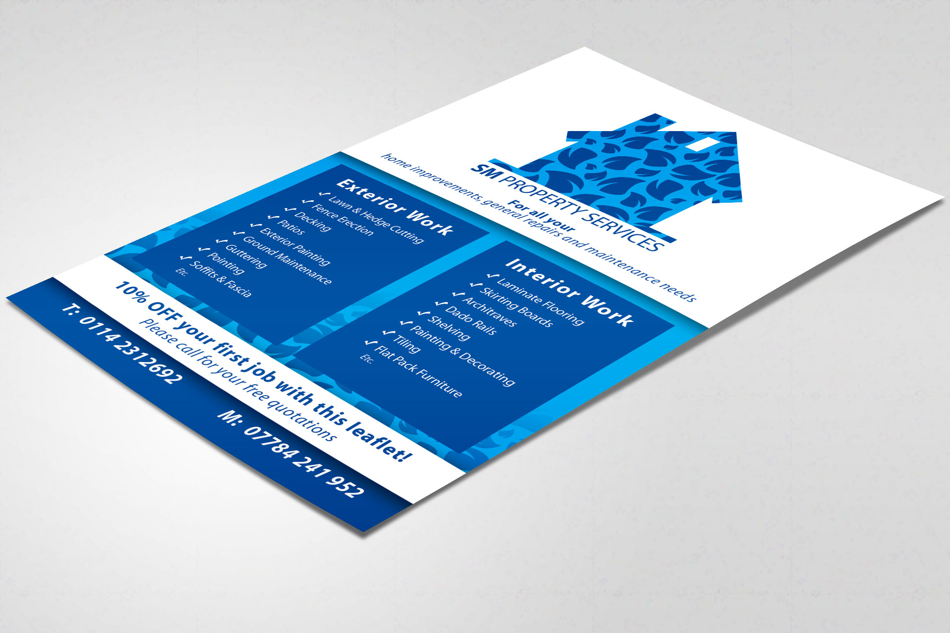 portfolio sm property services flyer sm property services flyer design